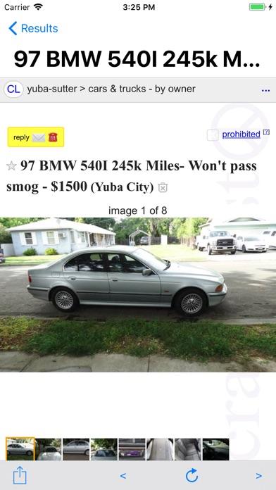 BRZO - Used Cars on Craigslist - AppRecs