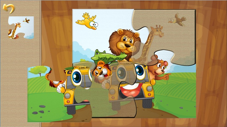 Animal Car Games: Cute Puzzles for Kids & Toddlers screenshot-1