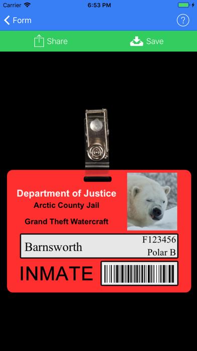 ID Card Generator screenshot three