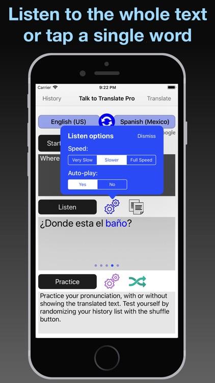 T2T Pro: Speech Translation screenshot-5