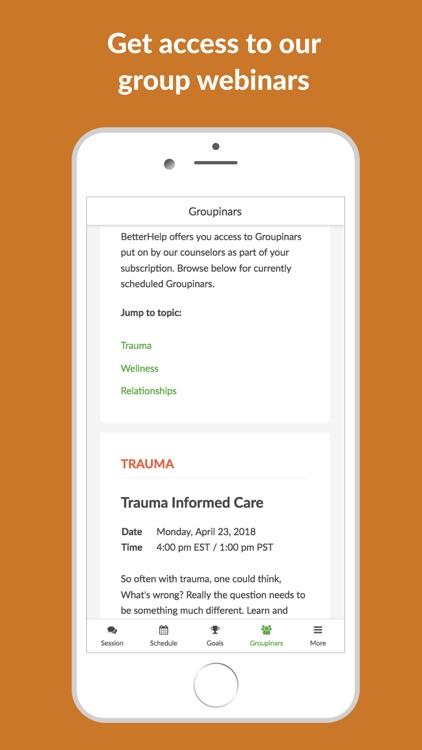 BetterHelp - Online Counseling screenshot-3