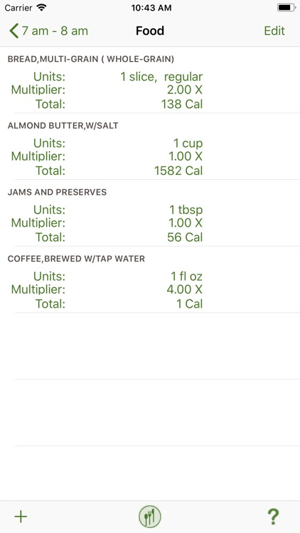 NutriTiming® screenshot-4