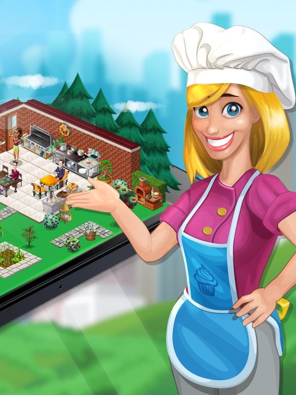 Кулинарный город для iPad