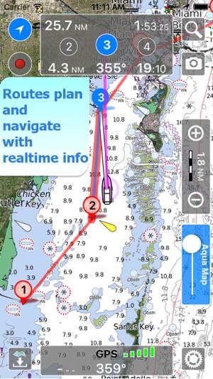 Aqua Map Wisconsin Lakes GPS On The App Store
