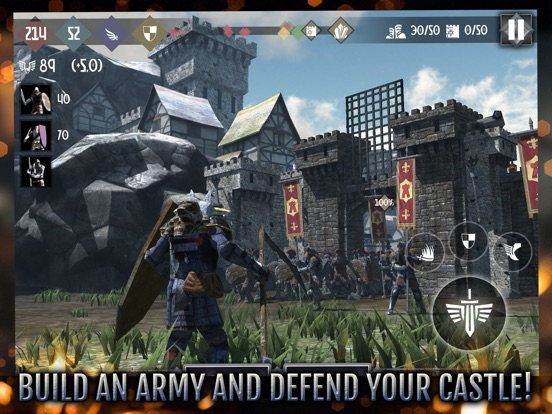 Heroes and Castles 2 на iPad