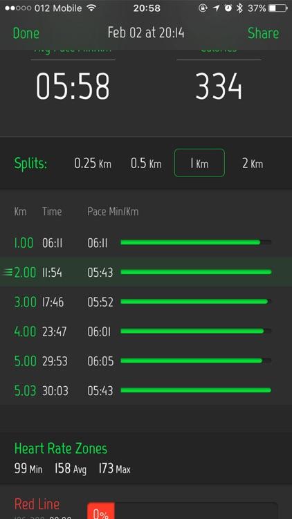 Running Distance Tracker. screenshot-3