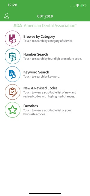 Ada Cdt Code Check On The App Store