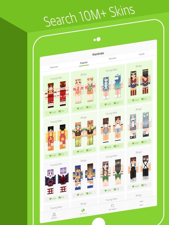 Skinseed for Minecraft Skins - App voor iPhone, iPad en ...