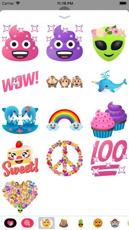 Sweet n Sassy by EmojiOne screenshot-3