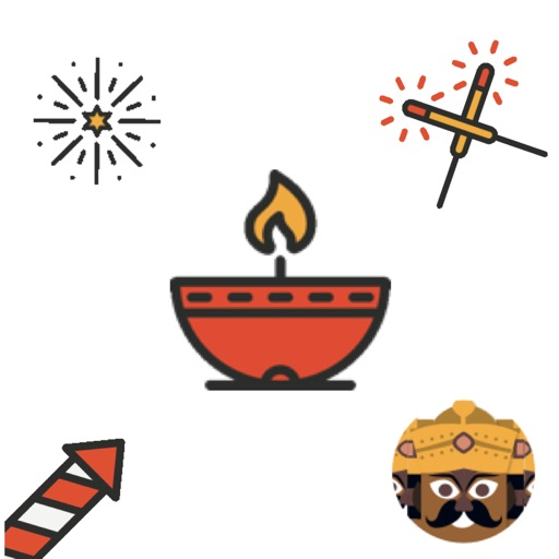 Diwali Stickers Animated