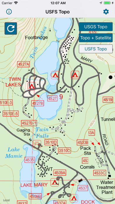 Topographic Maps & Trails screenshot 2