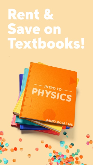 Screenshot for Chegg Books in United States App Store