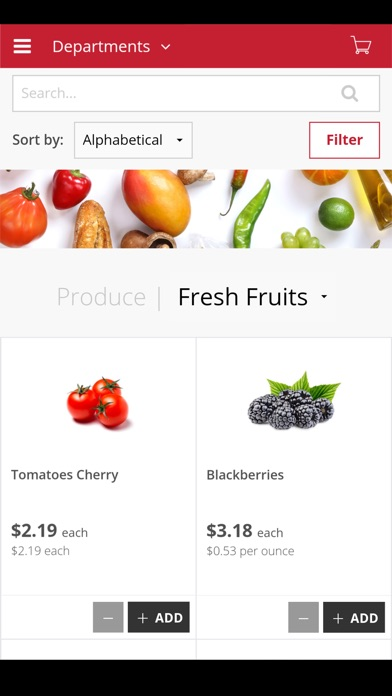 goGroceri screenshot 2