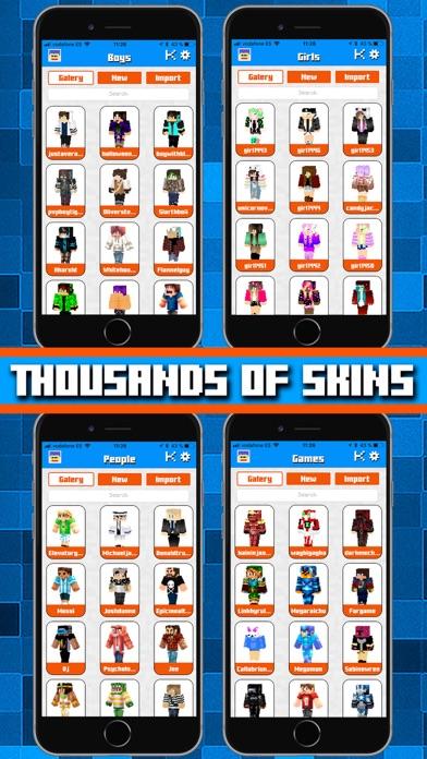 Skins AR for Minecraft screenshot three