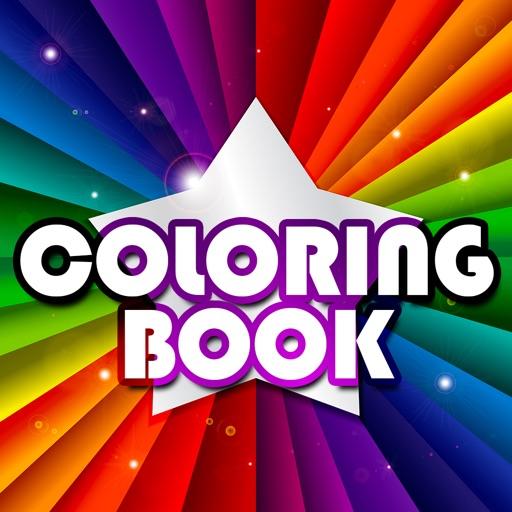 Colorizo erwachsene Färbung Buch Mandala Farbe
