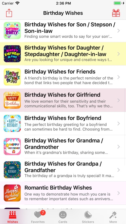 Birthday App! screenshot-4