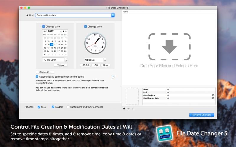File Date Changer 5 Screenshot