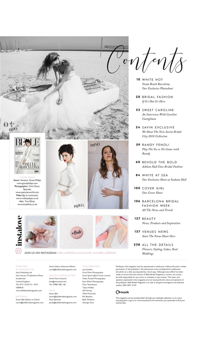 Belle Bridal magazine screenshot 2