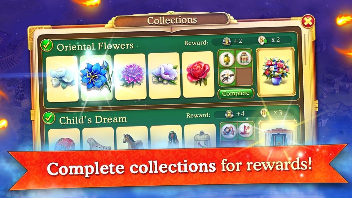 Cradle of Empires Match-3 Game Screenshot