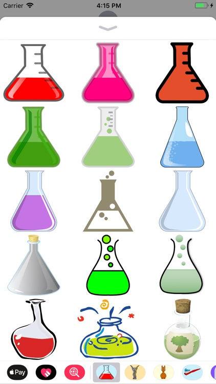 Beakers and Flasks Stickers