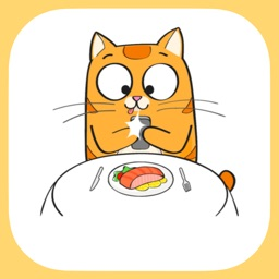 Cute Cat - Stickers for Message
