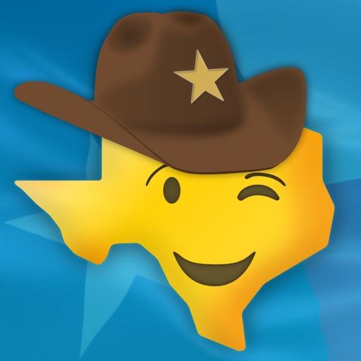 Texas Emoji - Texan Stickers