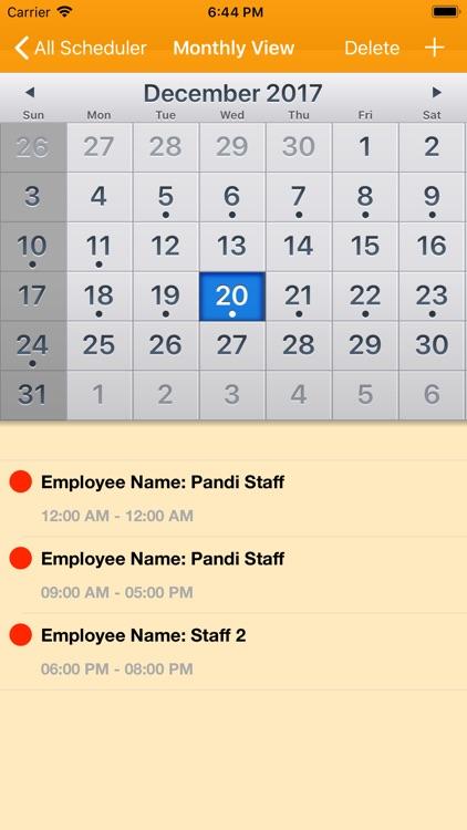 Work Schedule Maker screenshot-3