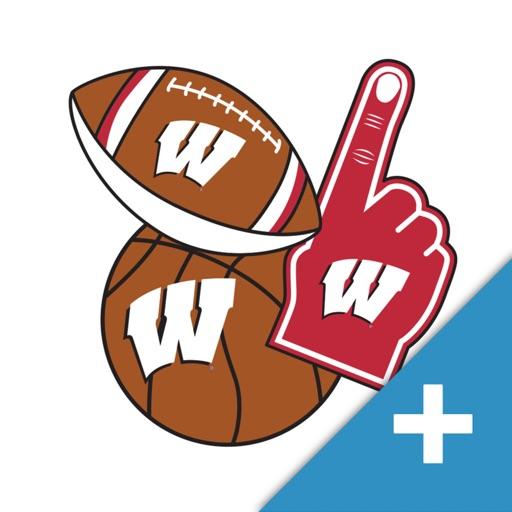 Wisconsin Badgers PLUS Selfie Stickers