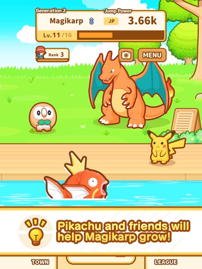Pokémon: Magikarp Jump on the App Store