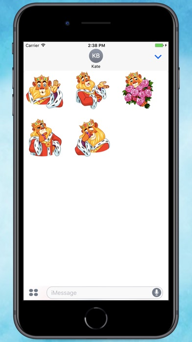 Screenshot for Powerful Lion Stickers in Colombia App Store