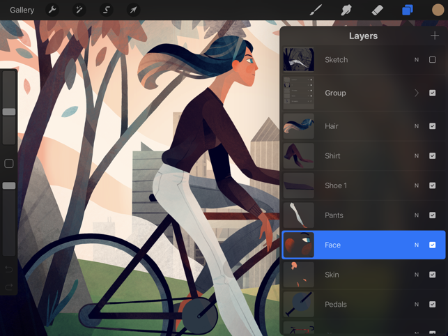 Drawing Straight Lines With Procreate : Procreate on the app store