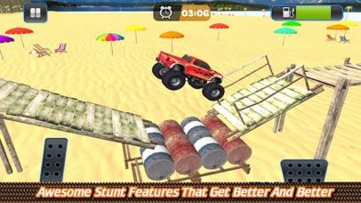 Grand Monster Truck Driving Sk screenshot 2