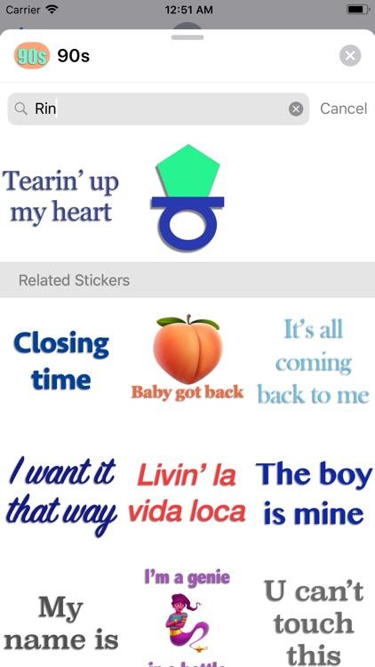 90s Stickers screenshot-4