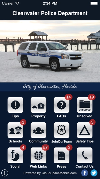 Clearwater Police Department by City of Clearwater