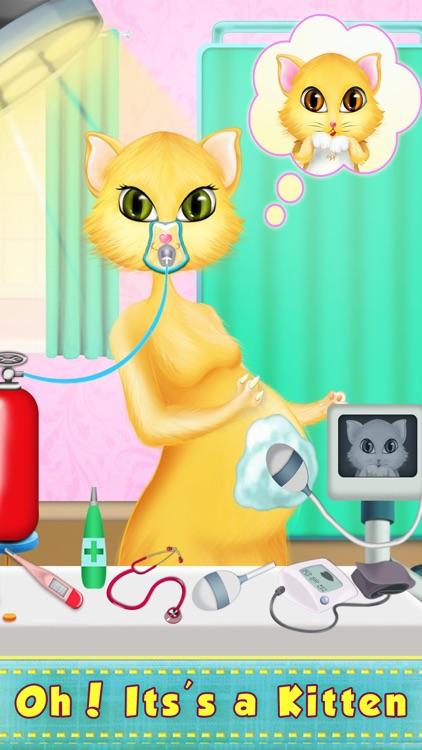 Kitty Love My Newborn Baby