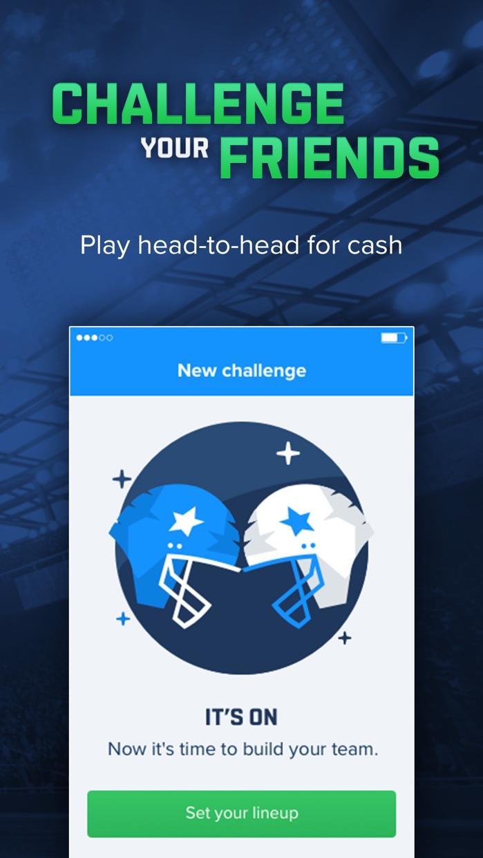 FanDuel - Fantasy Football Screenshot