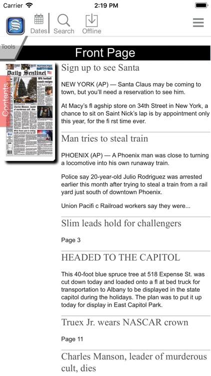 Daily Sentinel Digital screenshot-3