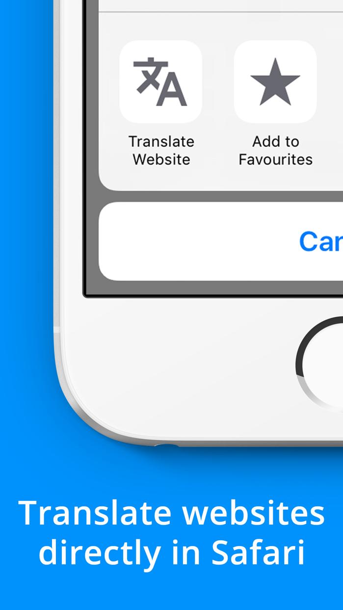 Website Translator Screenshot
