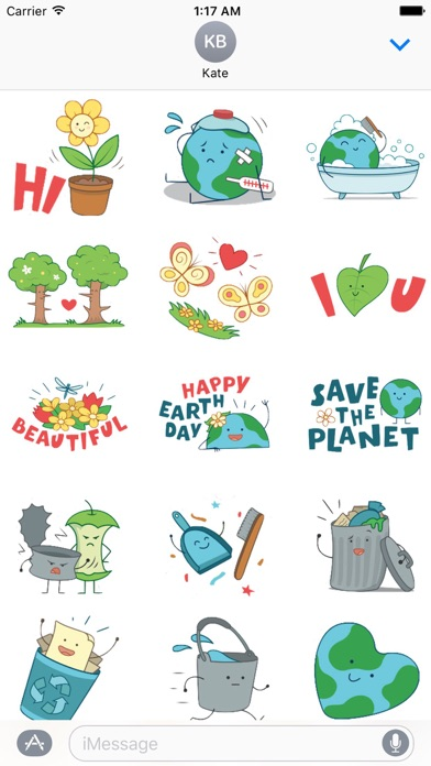Happy Earth Day Sticker screenshot 1