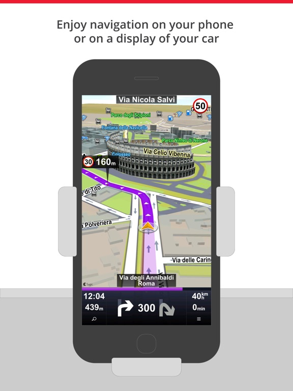 Car Navigation: Maps & Traffic Screenshot