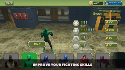 Superheroes vs Robots Fighting screenshot two