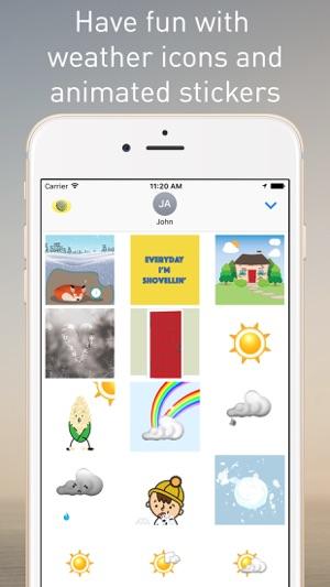 meteomedia pour iphone
