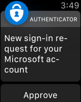 Microsoft Authenticator screenshot 12