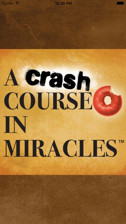 A Crash Course in Miracles screenshot-0