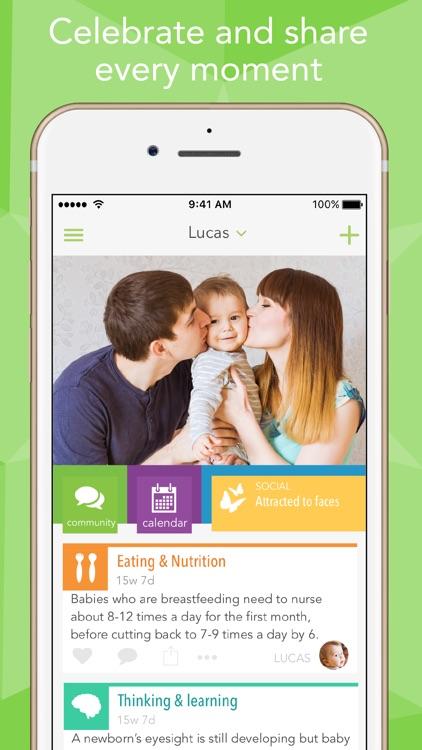 Ovia Parenting & Baby Tracker