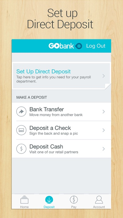 GoBank - Mobile Banking by Green Dot Corporation (iOS, United States