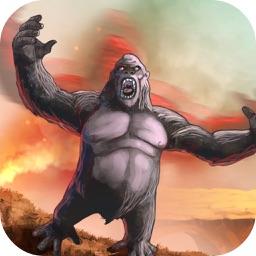 Gorilla Fighting City