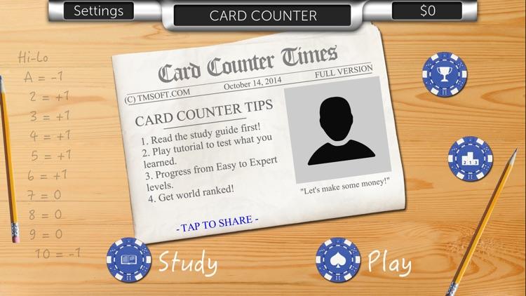 Card Counter Lite screenshot-4