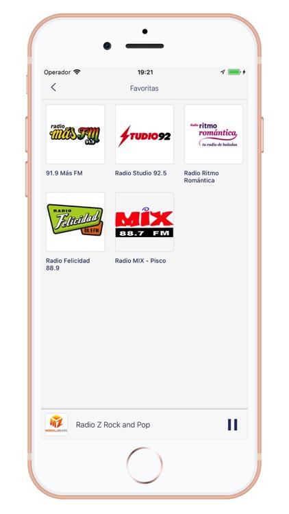Radios de Peru - AM/FM screenshot-4