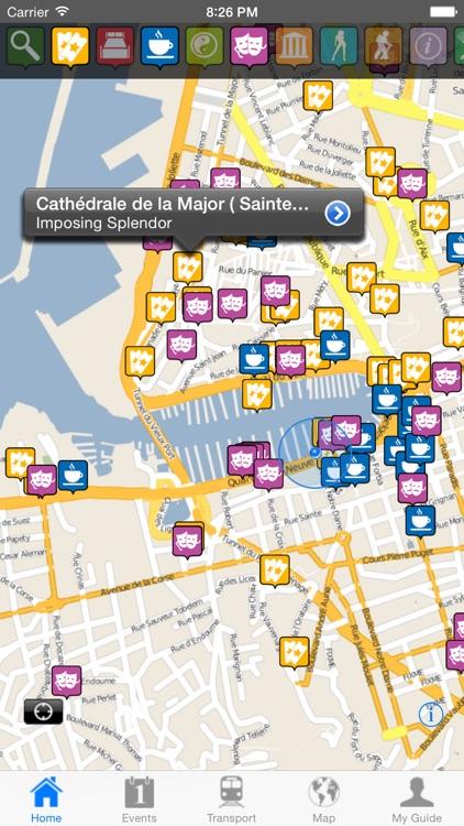 Marseille Travel Guide Offline